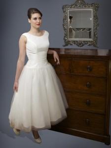 Audrey Hepburn 1950s Wedding Dress UK