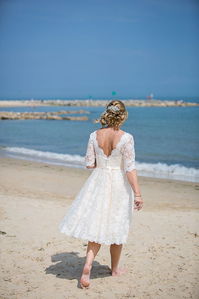 Mature bride dresses