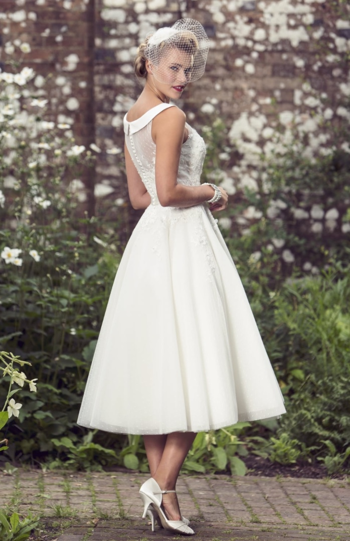Brighton Belle polka dot dress at Cutting Edge Brides