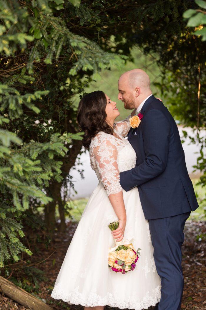 Rosie Short Wedding Dress at Cutting Edge Brides