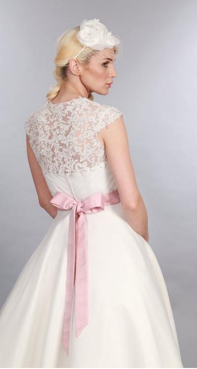 Elizabeth short wedding dress at Cutting Edge Brides