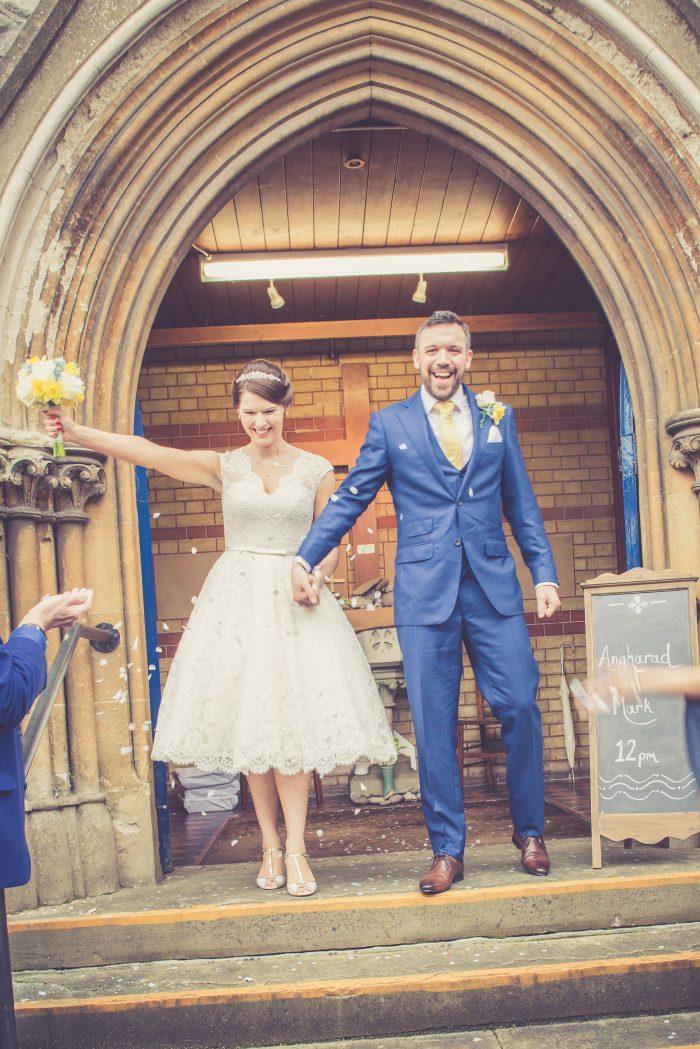 Real Wedding - Cutting Edge Brides
