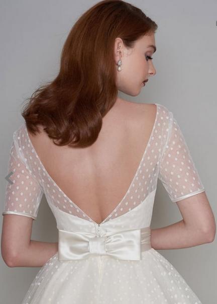 Cutting Edge Brides Polka Dot Dress