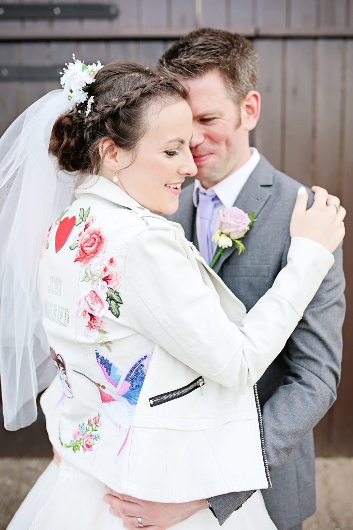 accesorize your tea length wedding dress - Real Brides Markella and Jonathon