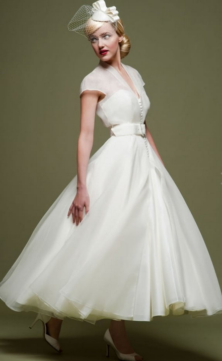 LouLou Bridal 1950s style wedding dresses