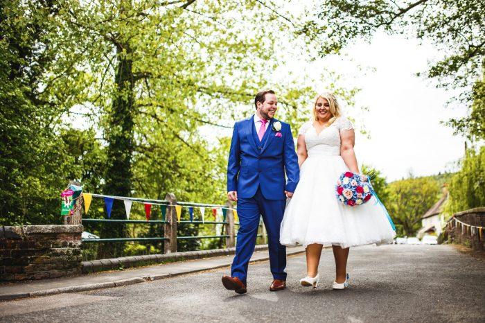 A Themed Wedding Day - Short Wedding Dress