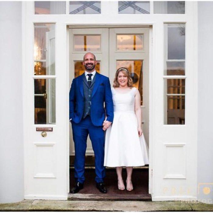 Emma and Ashleys Good Friday Wedding. Dress by Cutting Edge Brides