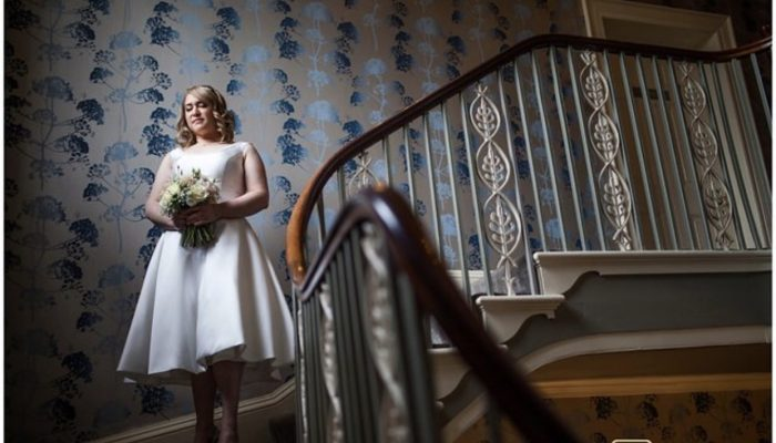 Good Friday Wedding - Short wedding dress by Cutting Edge Brides
