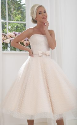 ccf6ba9237f WOW! 125 Tea Length House of Mooshki Short Wedding Dresses! Cutting ...
