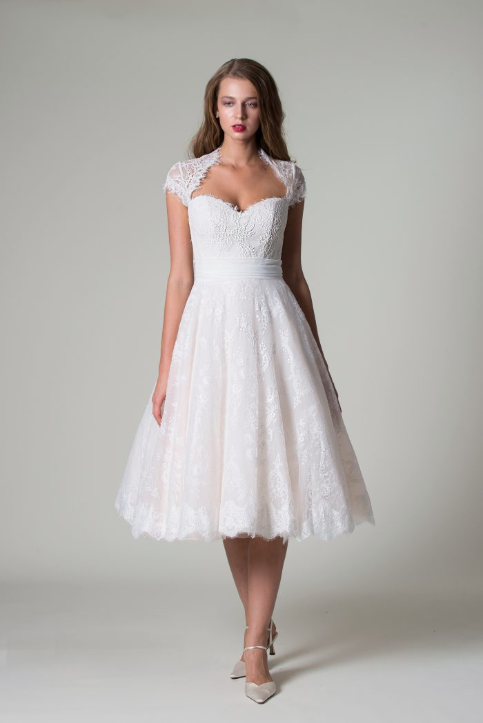Laia Rita Mae short wedding dress collection