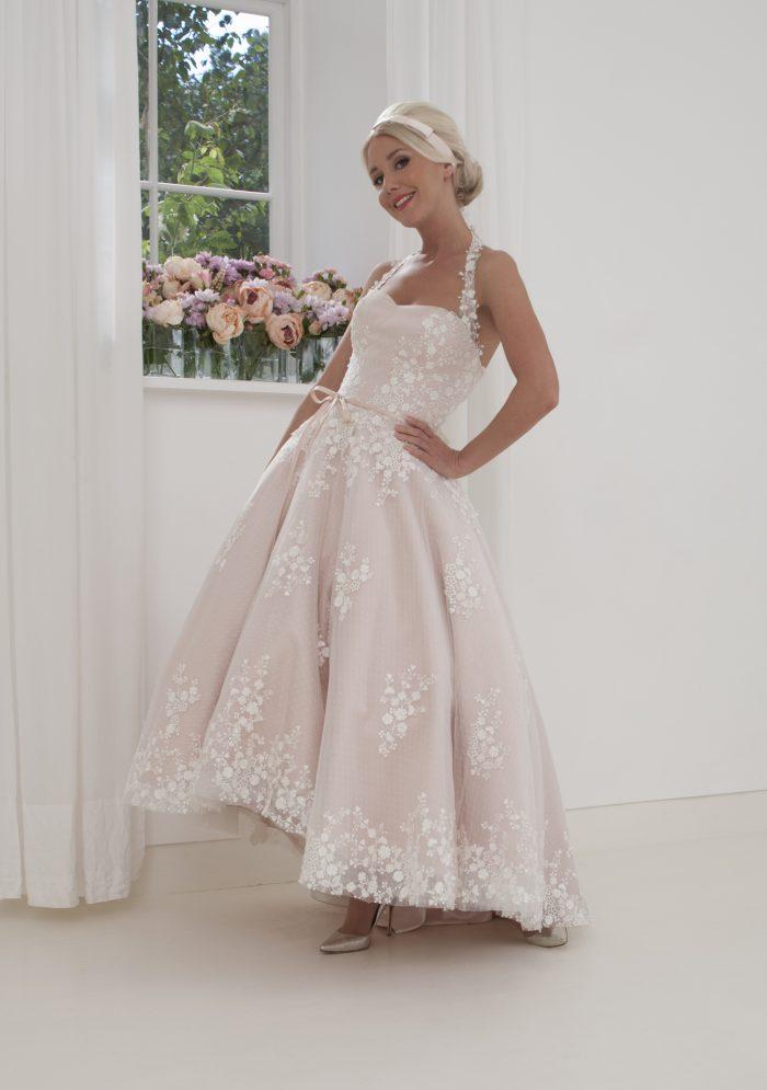 modern romantic wedding dress