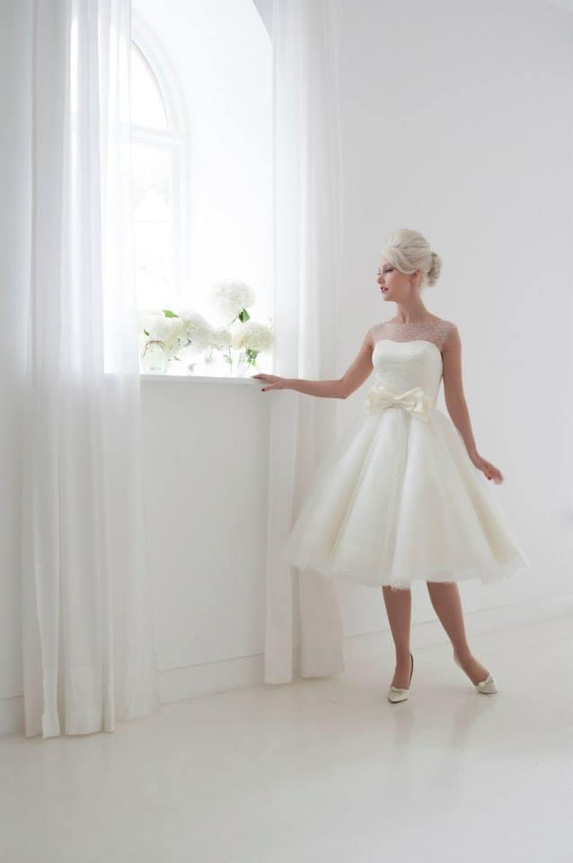 unique tea length wedding dresses like Daisy by House of Mooshki