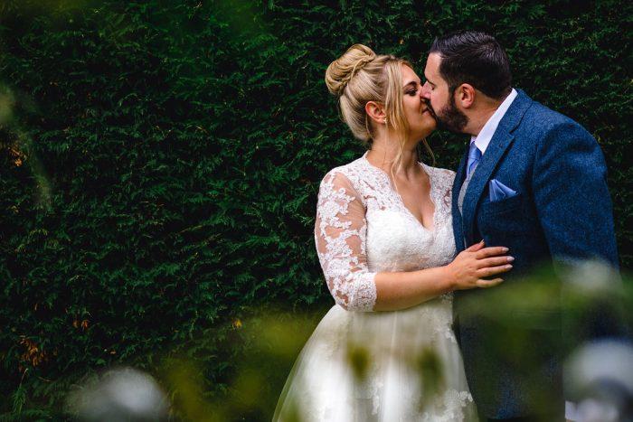 Kris&Carla short wedding dress at cutting edge brides