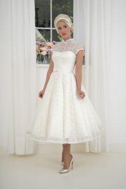 ccf6ba9237f WOW! 125 Tea Length House of Mooshki Short Wedding Dresses! Cutting ...