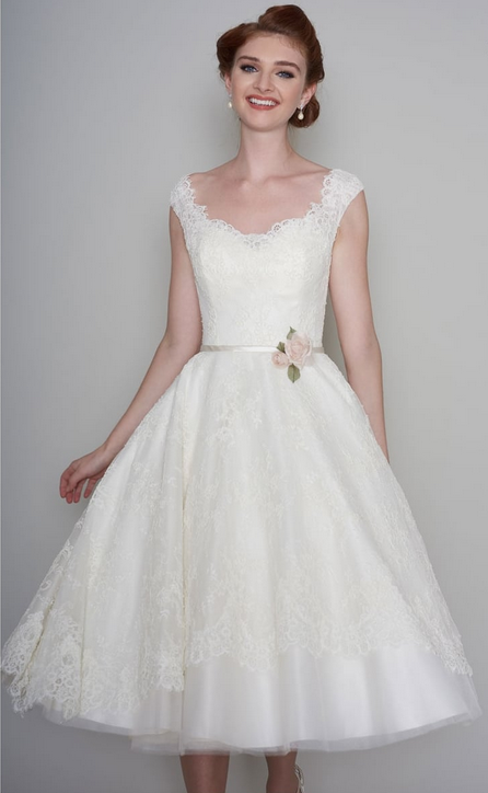 Classic short wedding dresses at cutting edge brides