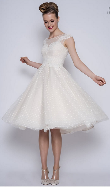 Betty by LouLou at Cutting Edge Brides 1950s style wedding dresses