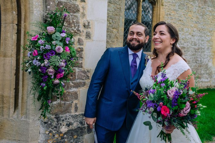Calf length wedding dress cutting edge brides