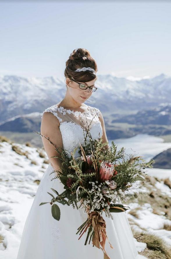 Molly- MAe Tea Length Retro Wedding Dress at Cutting Edge Brides