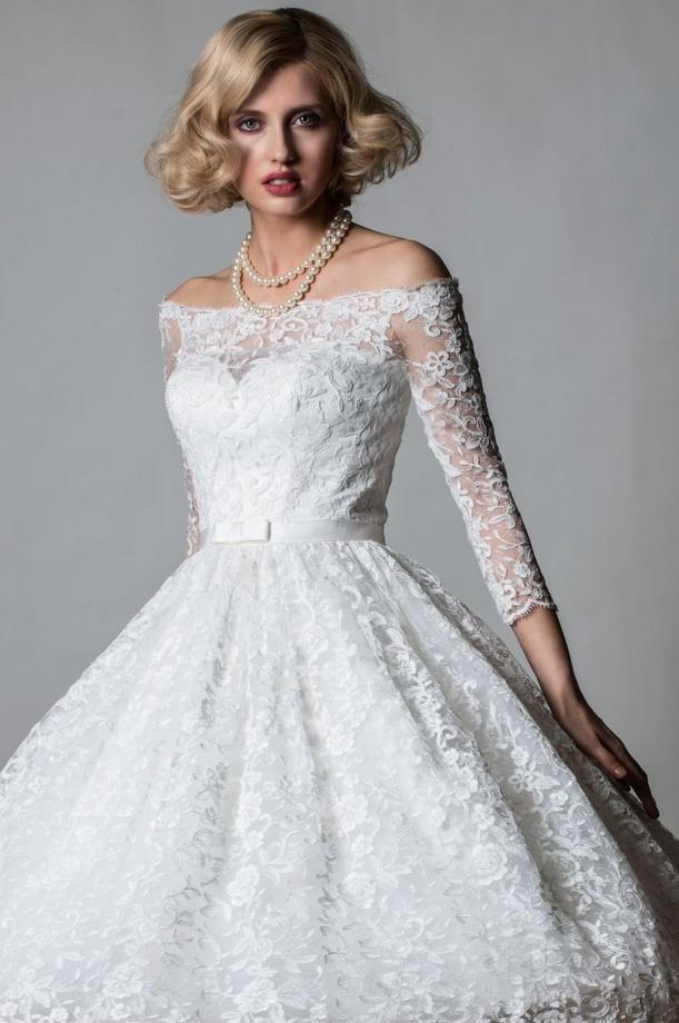 Lorna by Rita Mae vintage inspired wedding dress