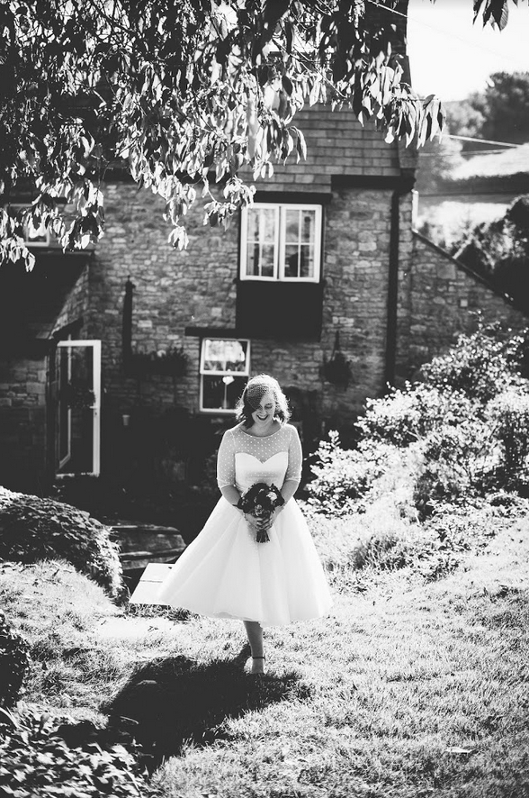 Nellie by Loulou bridal at Cutting Edge Brides. Worn by real bride Maddy