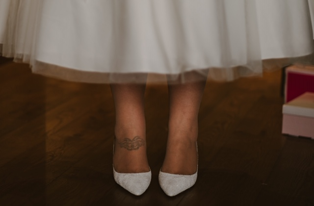 Megan the Brides shoes