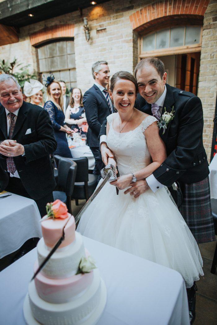 Real Wedding at Cutting Edge Brides