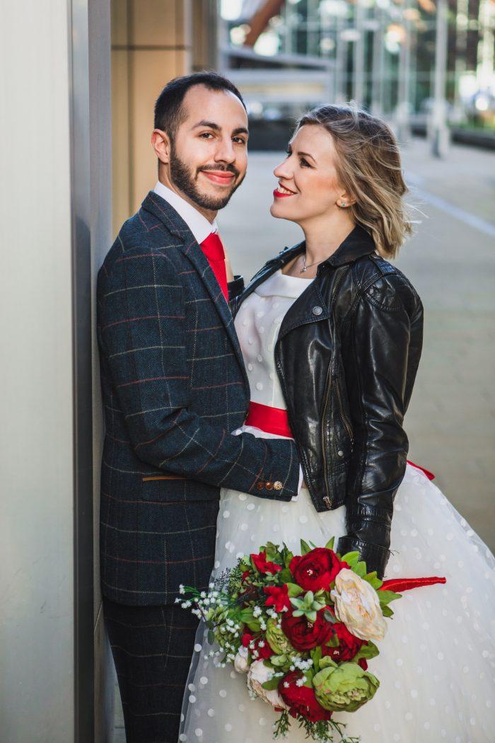 Real Wedding Cutting Edge Brides