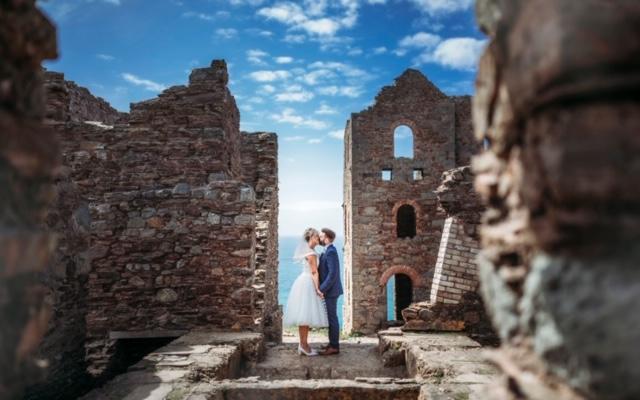 tea length wedding dress Cutting Edge Brides