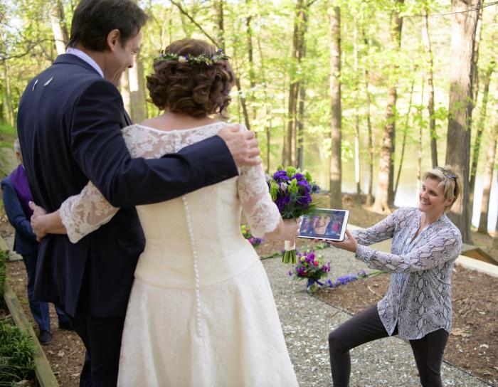 unique short wedding dress at cutting edge brides