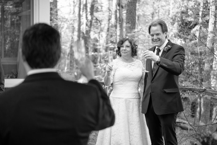 Real wedding during lockdown