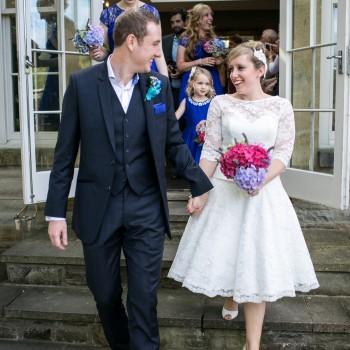 Cutting Edge Brides real weddings