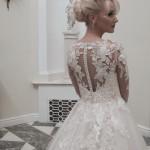 themes for short wedding dresses