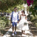 Emily Rita Mae short wedding dress