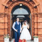 Real Bride Shelley wearing Bella by Loulou bridal