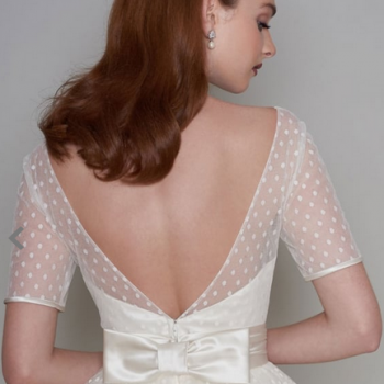 Cutting Edge Brides Polka Dot Dress