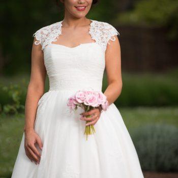 imeless Chic Olivia High Low Wedding Dress