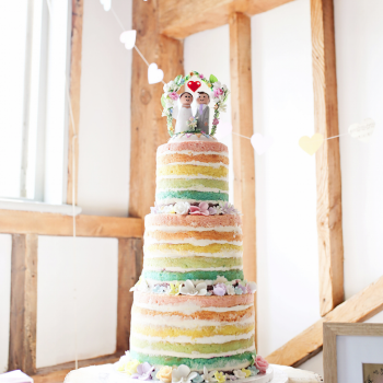 Markella and Jonathan wanted a fun and colourful celebration with lots of handmade touches, a real rustic wedding