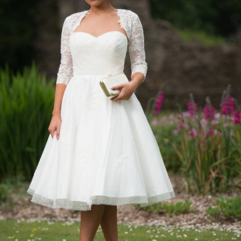 Elizabeth Timeless Chic Vintage Style Wedding Dress