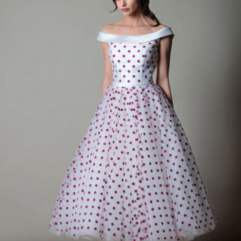 coloured short wedding dress