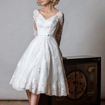 Is a short wedding dress right for you
