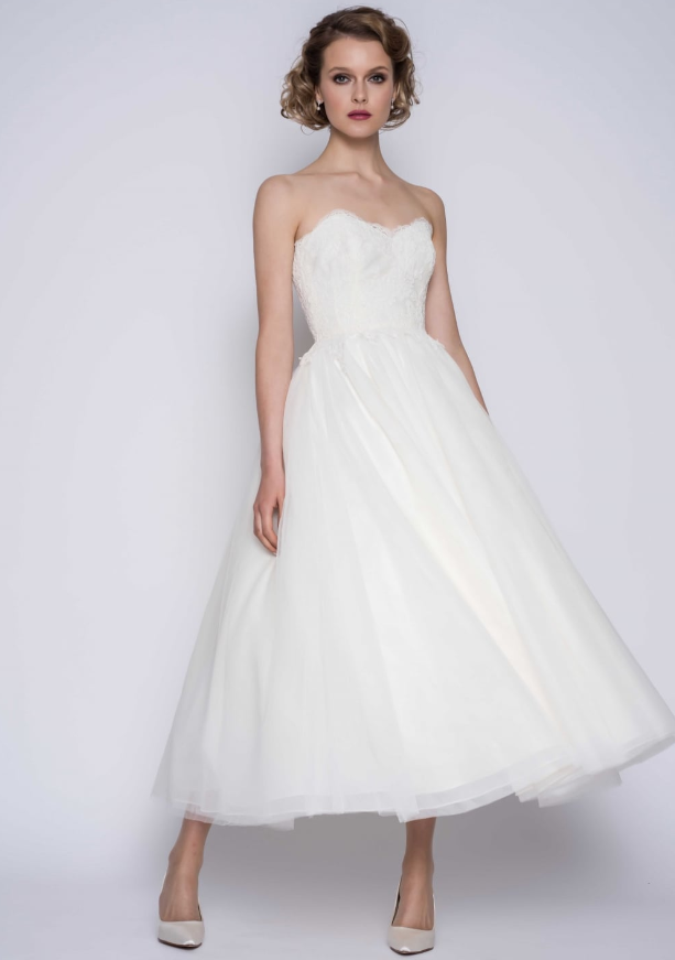 Non Traditional Wedding Gown Short Wedding