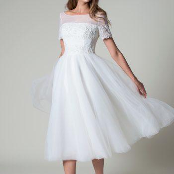 Jada short wedding dress Rita Mae
