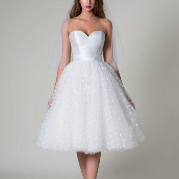 Anita short wedding dress Rita Mae