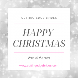 Merry Christmas from Cutting Edge Brides