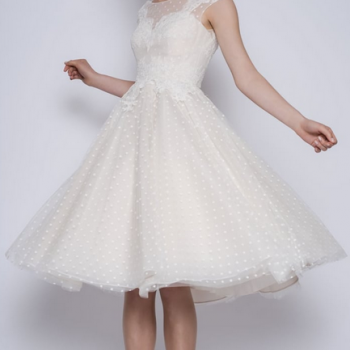 Betty by LouLou at Cutting Edge Brides 1950s style vintage dresses
