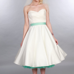 Elizabeth by Timeless Chic at Cutting Edge Brides. 1950s style wedding dresses
