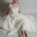 posy by Loulou bridal at cutting edge brides one of our classic short wedding dresses