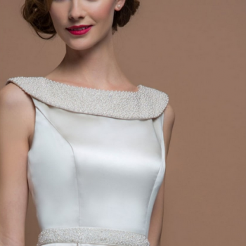 let your personality shine through in Agatha by loulou bridal at cutting edge brides