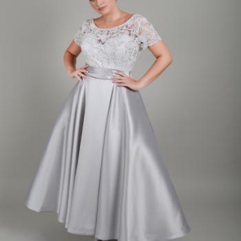 Lois Wild designer tea length wedding dresses