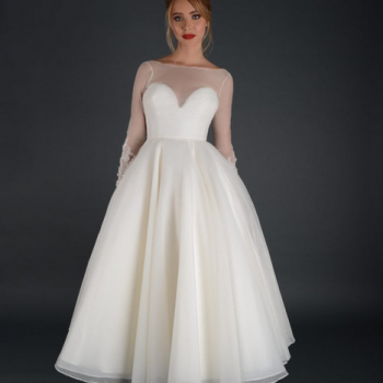 short wedding dresses for old hollywood glamour